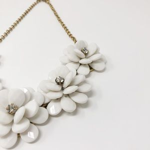 J. Crew Factory Jewelry - J. Crew Factory | Floral Necklace
